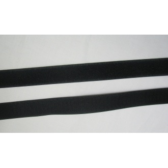 Suchý zips 25mm - (Čierny)