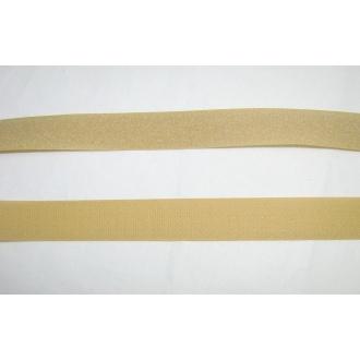 Suchý zips 25mm - (béžový)