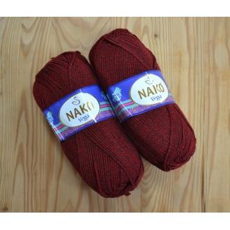 Vega Tweed 100g 31754 šedý melír
