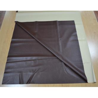 Koženka elastická tmavo hnedá