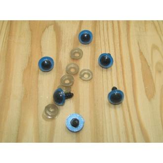 Bezpečnostné oči pre zvieratká,modré