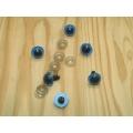 Bezpečnostné oči pre zvieratká,modré Ø 14mm