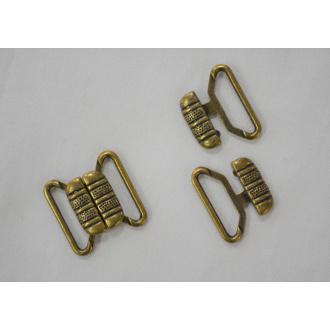 Podprsenkové zapínanie zlaté 2cm