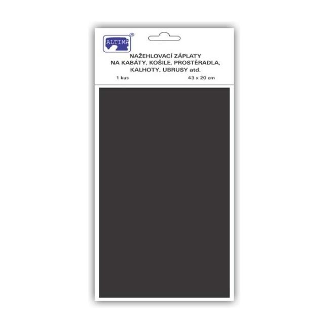 Nažehľovačky plátno čierna