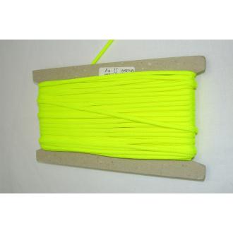 Šnúra padáková - neonovo žltá