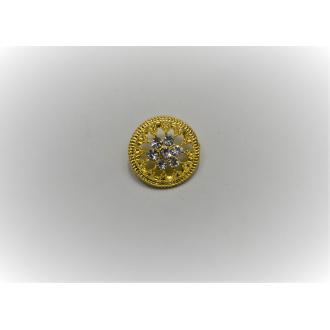 Ozdobný gombík kovový Ø 4cm