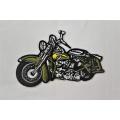 Nažehľovačka motorka