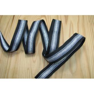 Lemovka ozdobná elastická š.25mm