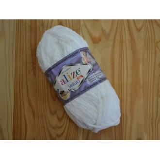 Alize Velluto 100g - 55 / biela