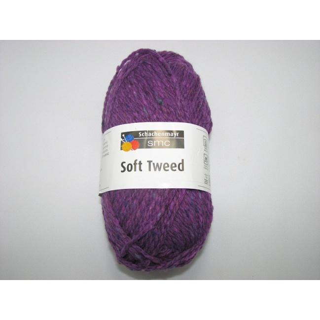 Soft Tweed 50g- 00049 fialová