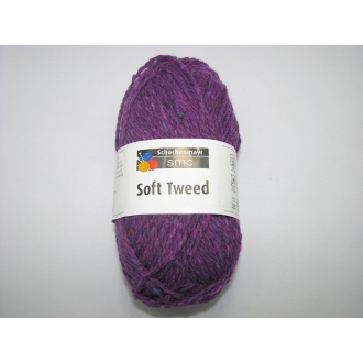 Soft Tweed 50g- 00049 fialová