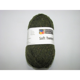 Soft Tweed 50g- 00071 olivovo zelená