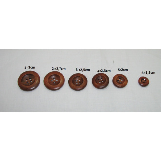 Handmade gombík  / Ø 2,3cm