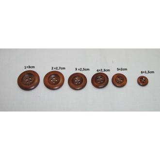 Handmade gombík  / Ø 1,5cm