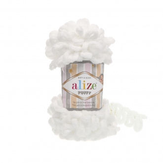 Alize Puffy  - 55 biela