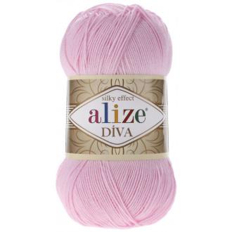 Alize Diva - 185 Detská ružová
