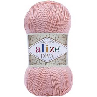 Alize Diva - 363 Pudrová ružová