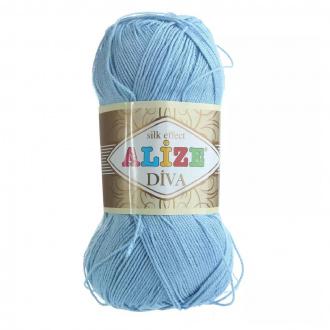 Alize Diva - 350 Morská modrá