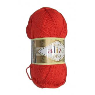 Alize Diva - 37 Oranžová