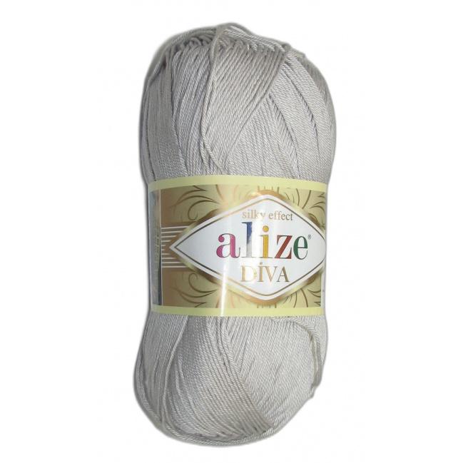 Alize Diva - 168 Bledo šedá