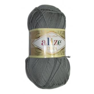 Alize Diva - 87 Tmavo šedá