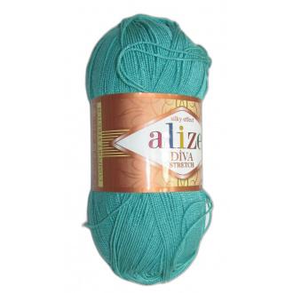 Alize Diva stretch - 610 Zelená