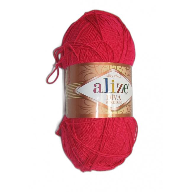 Alize Diva stretch - 396 Cyklamenová