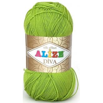 Alize Diva - 117 - Jablková zelená