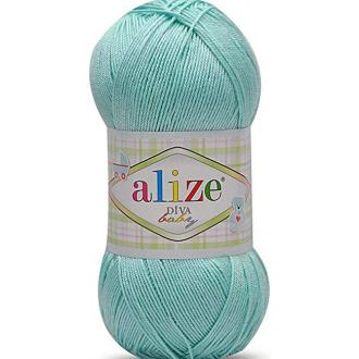 Alize Diva - 669 Svetlá tyrkysová