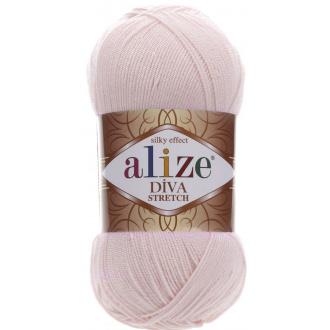 Alize Diva stretch - 382 Ružovo smotanová