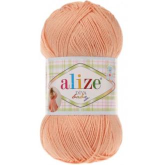 Alize Diva Baby - 282 Marhuľová