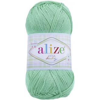 Alize Diva Baby - 249 Bledo zelená