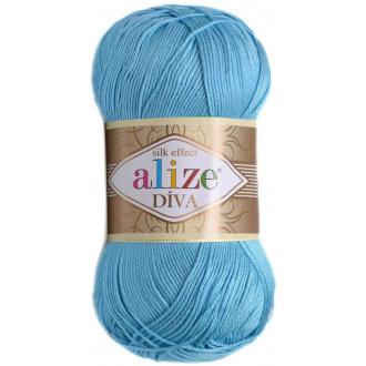 Alize Diva - 346 Modrá