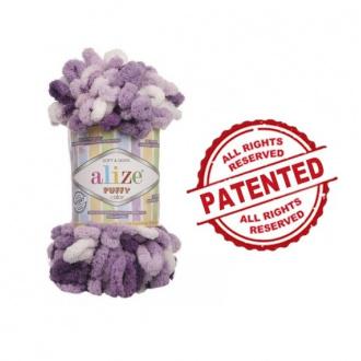 Alize Puffy Color - 5923 Fialový melír