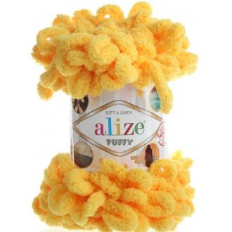 Alize Puffy - 216 Tmavá žltá