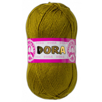 Dora 100g- 076 khaki zelená