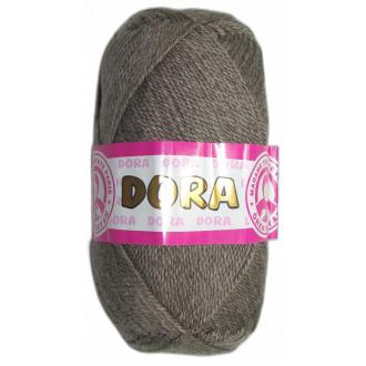 Dora 100g-014 hnedo šedá