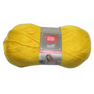 Red Heart Soft - 0014 Žltá