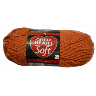 Red Heart Soft 00003 - Oranžová