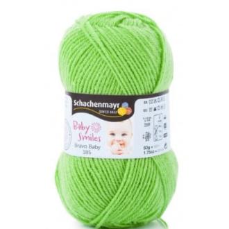 Schachenmayr Bravo baby 185 - 1072 Jablkovo zelená