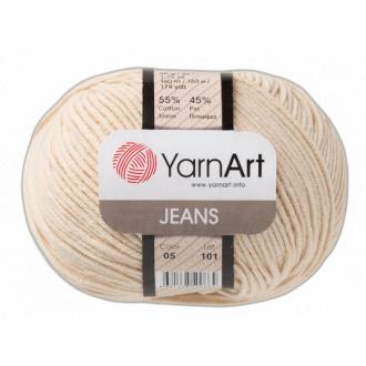 Yarnart Jeans - 05 Svetlá béžová