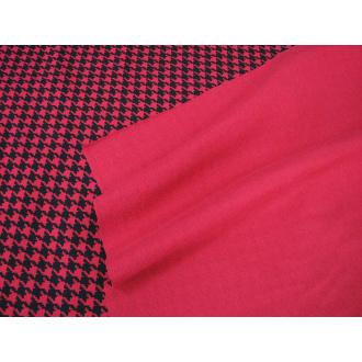 Úplet červenočierny š.180cm