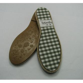 Podrážky na háčkované topánky veľ.39-40