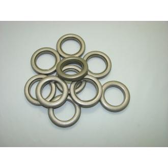Krúžky na závesy a záclony - Platina (10ks)
