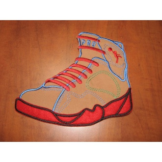 Nášivka 18,5x16cm - topánka