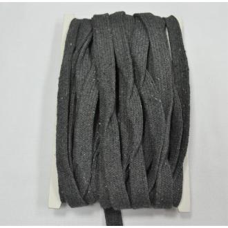 Bavlnená šnúra plochá 10 mm