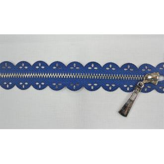 Zips kovový nedeliteľný 16cm