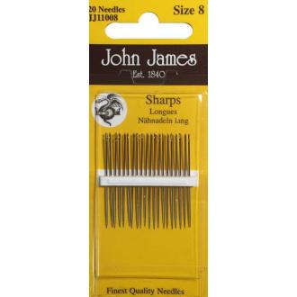 Ihly ručné John James č.8