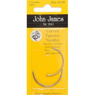 Ihly zahnuté gobelínové  John James