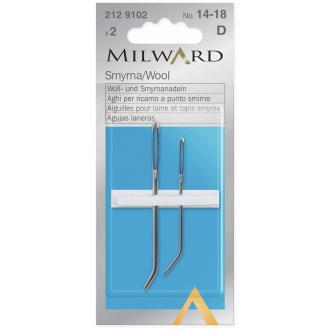 Ručné ihly na priadzu Milward